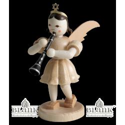 Blank-Engel mit Klarinette