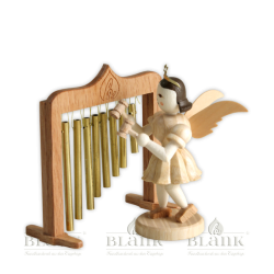 Blank-Engel mit Röhrenglocken